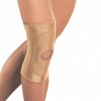 Бандаж Orlett RKN-103 на колено с фиксирующей подушкой и отверстием