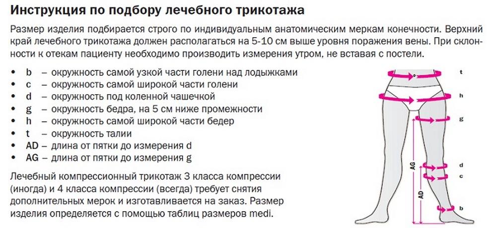 Купить эластичные чулки для операции, цена в Москве
