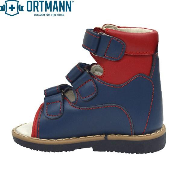 6844af028 Детские ортопедические сандалии с высоким берцем ORTMANN Kids Eger 7.29.2